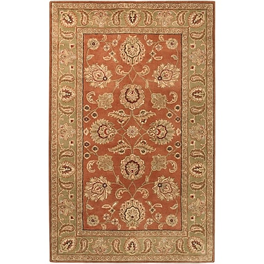 Surya Crowne CRN6019-58 Hand Tufted Rug, 5' x 8' Rectangle
