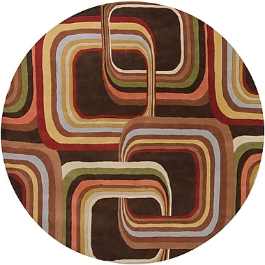 Surya Campbell Laird Forum FM7007-8RD Hand Tufted Rug, 8' Round