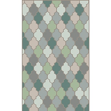 Surya Mugal IN8615-58 Hand Knotted Rug, 5' x 8' Rectangle