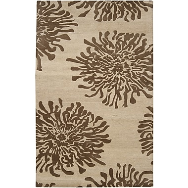 Surya Bombay BST493-58 Hand Tufted Rug, 5' x 8' Rectangle