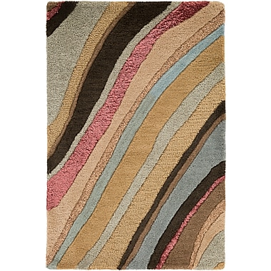 Surya Artist Studio ART229-23 Hand Tufted Rug, 2' x 3' Rectangle