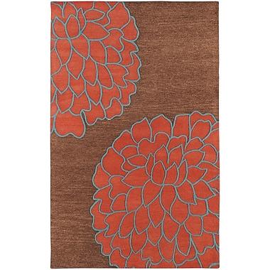 Surya Artist Studio ART206-58 Hand Tufted Rug, 5' x 8' Rectangle