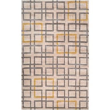 Surya Artist Studio ART231-58 Hand Tufted Rug, 5' x 8' Rectangle