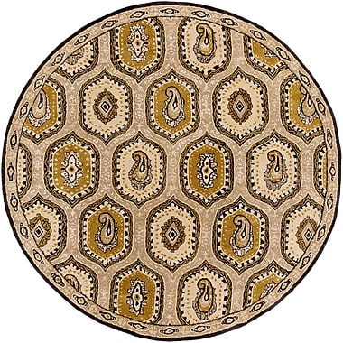 Surya Ancient Treasures A173-8RD Hand Tufted Rug, 8' Round