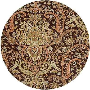 Surya Ancient Treasures A141-8RD Hand Tufted Rug, 8' Round