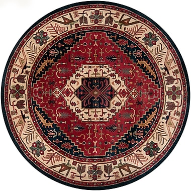 Surya Ancient Treasures A134-8RD Hand Tufted Rug, 8' Round