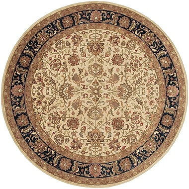 Surya Ancient Treasures A116-8RD Hand Tufted Rug, 8' Round