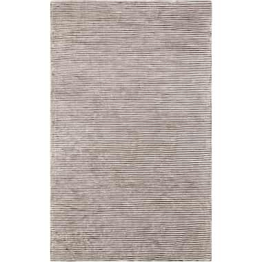 Surya Graphite GPH53-58 Hand Loomed Rug, 5' x 8' Rectangle