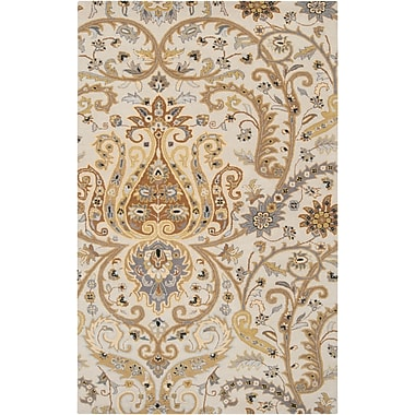 Surya Ancient Treasures A165-58 Hand Tufted Rug, 5' x 8' Rectangle