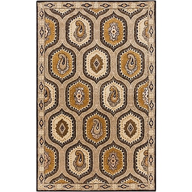 Surya Ancient Treasures A173-58 Hand Tufted Rug, 5' x 8' Rectangle