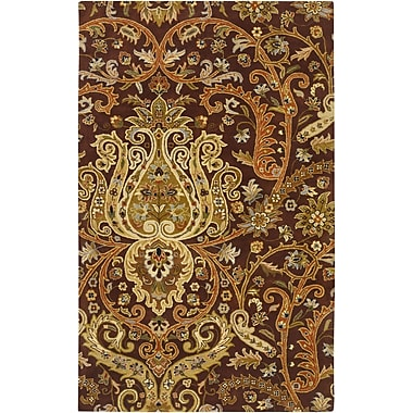 Surya Ancient Treasures A141-58 Hand Tufted Rug, 5' x 8' Rectangle