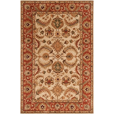 Surya Ancient Treasures A160-58 Hand Tufted Rug, 5' x 8' Rectangle