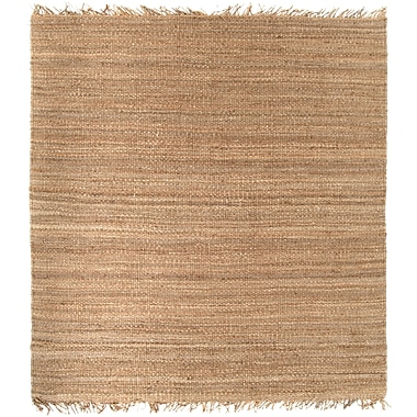 Surya J-8SQute Natural J8SQ Hand Crafted Rug, 8' Square
