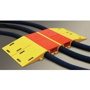 "Checkers® Diamondback® Modular Cable and Hose Bridge System For 4.5"" Lines, Yellow"