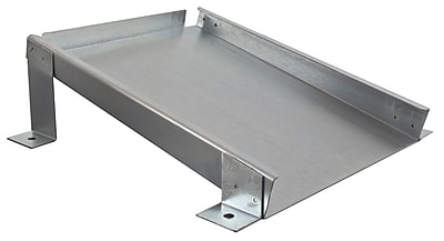 Checkers Monster Roadblock Urethane Horizontal Mounting Bracket For UC1400 Wheel Chock Silver