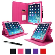rOOCASE Dual-View Folio Case Cover For iPad Air 5th Generation, Magenta