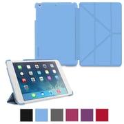 rOOCASE Origami Slim Shell Case Cover For iPad Mini, Blue