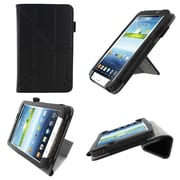 "rOOCASE Origami Slim Shell Case Cover For 7"" Samsung Galaxy Tab 3, Black"