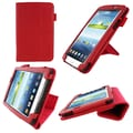 rOOCASE Origami Case Cover For 7in. Samsung Galaxy Tab 3, Red