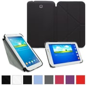 "rOOCASE Origami Slim Shell Case Cover For 8"" Samsung Galaxy Tab 3, Black"