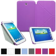"rOOCASE Origami Slim Shell Case Cover For 8"" Samsung Galaxy Tab 3, Purple"