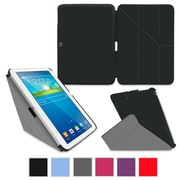 "rOOCASE Origami Slim Shell Case Cover For 10.1"" Samsung Galaxy Tab 3, Black"