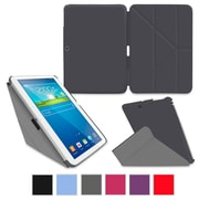 "rOOCASE Origami Slim Shell Case Cover For 10.1"" Samsung Galaxy Tab 3, Gray"