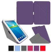 "rOOCASE Origami Slim Shell Case Cover For 10.1"" Samsung Galaxy Tab 3, Purple"