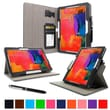 rOOCASE Dual-View Folio Case For Samsung Galaxy Tab Pro 10.1/Note 10.1, Black