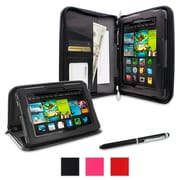 rOOCASE Executive Portfolio Case Cover For Amazon Kindle Fire HD 7, Black