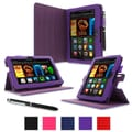 rOOCASE Dual-View Folio Case For Amazon Kindle Fire HD 7in., Purple