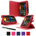 rOOCASE Dual-View Folio Case For Amazon Kindle Fire HD 7in., Red