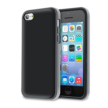 rOOCASE Hype Hybrid Dual Layer Case Cover For iPhone 5S, Slate