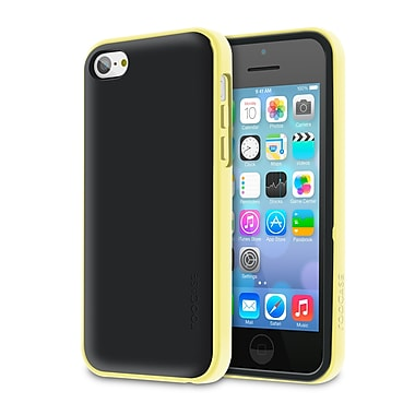 rOOCASE Hype Hybrid Dual Layer Case Cover For iPhone 5S, Yellow