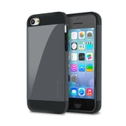 rOOCASE Slim-Fit Dual Layer Case For iPhone 5C, Slate
