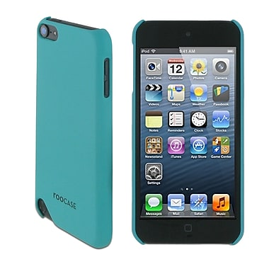 rooCASE TOUCH5-S1-R-AQ Ultra-Slim Matte Shell Case Cover for Apple iPod Touch 5th Gen, Aqua