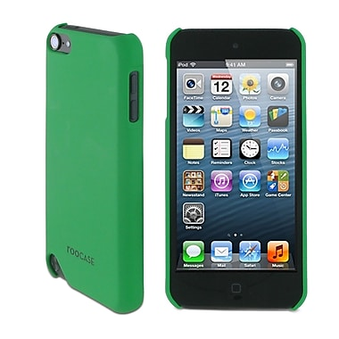 rooCASE TOUCH5-S1-R-GR Ultra-Slim Matte Shell Case Cover for Apple iPod Touch 5th Gen, Green