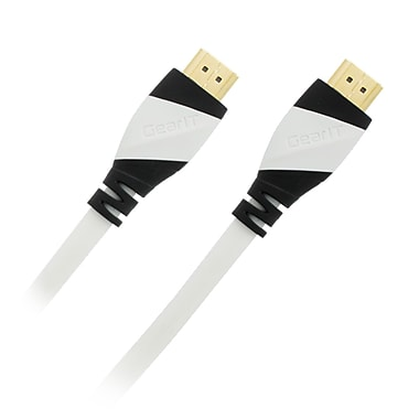 GearIT 6' HDMI v2.0 Male to Male Cable, White