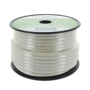 GearIT 100' 12AWG CL2 Rated Speaker Wire Audio Cable, White