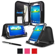 "rOOCASE Executive Carrying Case For 7"" Samsung Galaxy Tab 3 Lite, Black"