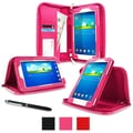 rOOCASE Executive Carrying Case For 7in. Samsung Galaxy Tab 3 Lite, Magenta