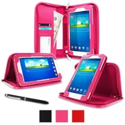 rOOCASE Executive Carrying Case For 7 Samsung Galaxy Tab 3 Lite, Magenta