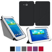 "rOOCASE Origami Slim Shell Case Cover For 7"" Samsung Galaxy Tab 3 Lite, Black"