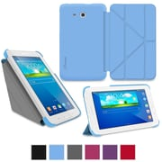 "rOOCASE Origami Slim Shell Case Cover For 7"" Samsung Galaxy Tab 3 Lite, Blue"