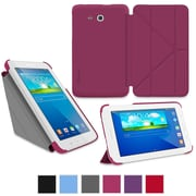 rOOCASE Origami Slim Shell Case Cover For 7 Samsung Galaxy Tab 3 Lite, Magenta