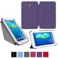 rOOCASE Origami Slim Shell Case Cover For 7in. Samsung Galaxy Tab 3 Lite, Purple