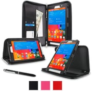 rOOCASE Executive Carrying Case For 8.4 Samsung Galaxy Tab Pro, Black