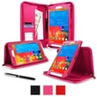 """rOOCASE Executive Carrying Case For 8.4"""" Samsung Galaxy Tab Pro, Magenta"""