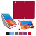 rOOCASE Origami Slim Shell Case Cover For 8.4in. Samsung Galaxy Tab Pro, Red