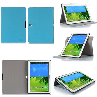 GearIT Spinner Folio Case Cover For Samsung Galaxy Tab Pro 10.1, Blue